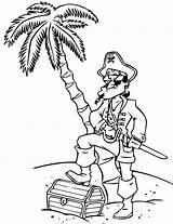Pirate Treasure Coloriage Coloring Pirates Imprimer Island Litle Dessin Pages Colorier Dessins sketch template