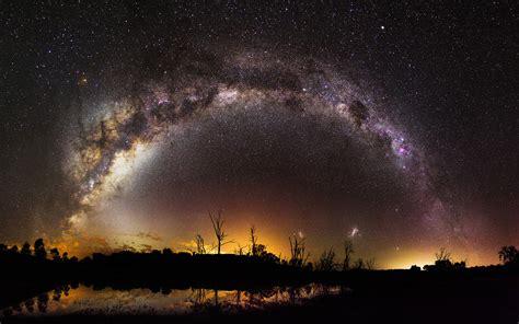 Scifi Milky Way 4k, Hd Digital Universe, 4k Wallpapers