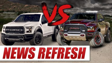 Dodge Ram Rebel Vs Raptor by Ram Rebel Trx Vs 2017 Ford Raptor Can The Rebel Trx