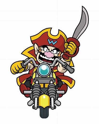Wario Mario Wii Artwork Captain Clipart Official