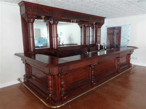 Large Antique Back Bars