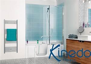 Duo Kinedo Baignoire Douche : source a id duo la solution douche bain sign e kinedo ~ Premium-room.com Idées de Décoration