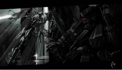 Anime Mecha Dark Wallpapers Core Armored Background