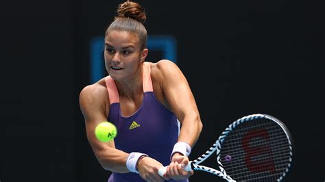 Maria sakkari is a greek professional tennis player who currently competes in the women's tennis association(wta). Sakkari through after major scare in St Petersburg - Tennis Majors
