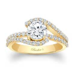 engagment rings barkev 39 s yellow gold engagement ring 7848ly