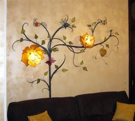Albero Con Fiori albero con fiori di loto lada da parete ladani