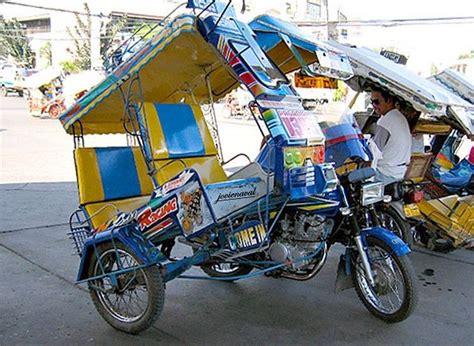 philippines pedicab filipino icon tricycle and pedicab ffe magazine