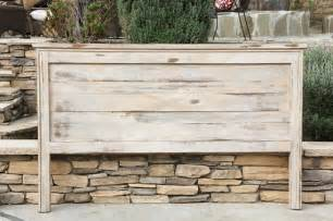 farmhouse king headboard white distressed by by foofoolalachild