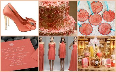 Coral Color Decorations For Wedding by Wedding Theme Ideas Wedding Themes