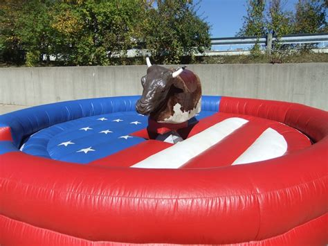 mechanical bull extreme attractions party rental