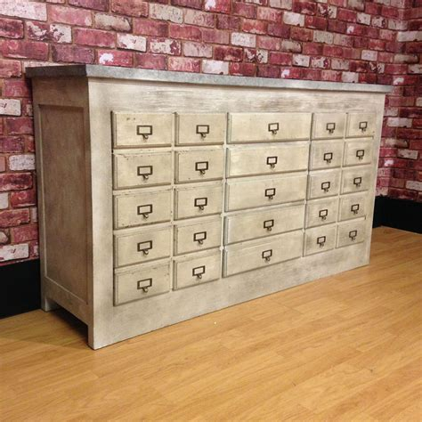 apothecary chest of drawers chest of drawers industrial chest of drawers zinc