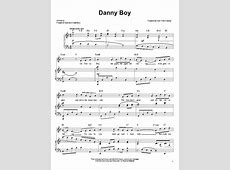 Danny Boy Sheet Music Direct