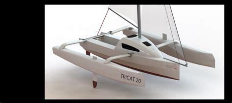 Tricat 20, trimarano per il campeggio nautico - Vela e Motore