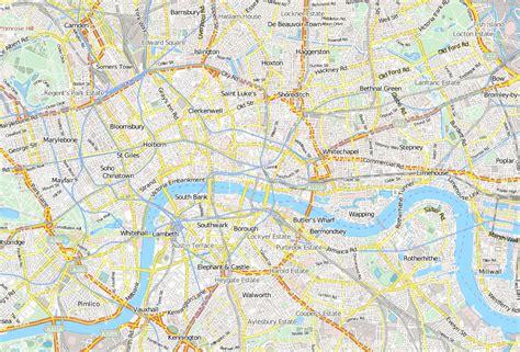 Karte Sehenswürdigkeiten London