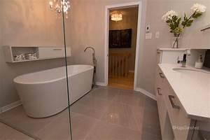 Panneau étanche Salle De Bain : douche plancher chauffant c ramiques hugo sanchez inc ~ Premium-room.com Idées de Décoration