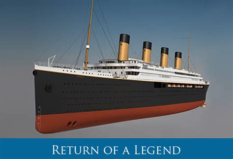 New Titanic Boat 2016 by V Ships Leisure Appointed As Titanic Ii Ship Manager