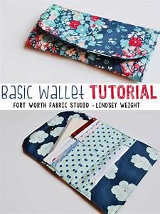 Fort Worth Fabric Studio  Basic Wallet Tutorial