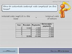 Leasing Rate Berechnen : how to calculate interest rate implicit in the lease youtube ~ Themetempest.com Abrechnung