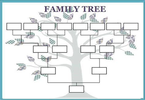free family tree template excel free family tree template word excel calendar template letter format printable holidays
