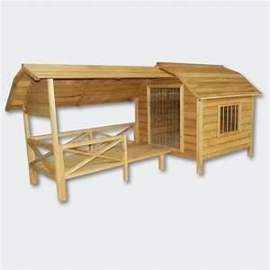 xxl hundehutte hundehaus massiv holz mit balkon terasse With xxl dog house plans
