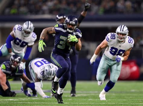 seattle seahawks defeat  dallas cowboys   playoff