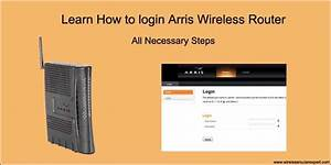 Belkin Router Login How To Login Arris Router Using Default Ip Username