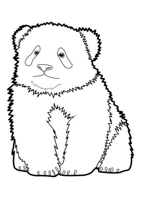 dessins de coloriage panda  imprimer