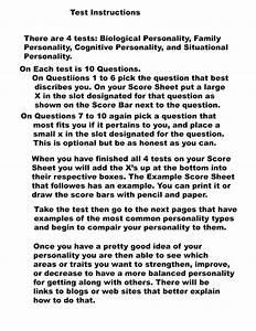 Psychotoons U0026 39  Personality Test