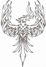 Phoenix Coloring Pages Adults Printable Adult Bird Getcolorings sketch template