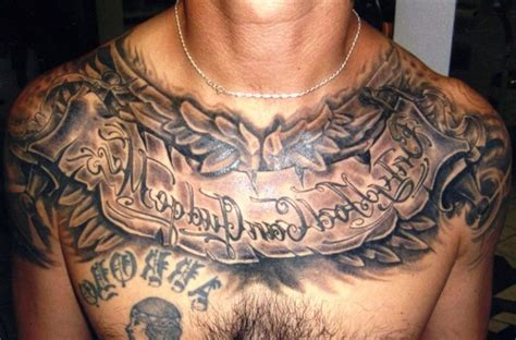 full chest tattoos  men cool full chest tattoos