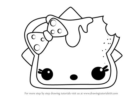Learn How To Draw P.b.n.j. From Num Noms (num Noms) Step