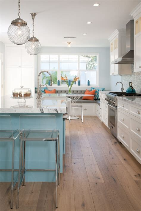 see thru kitchen blue island los angeles blue kitchen countertops style with see