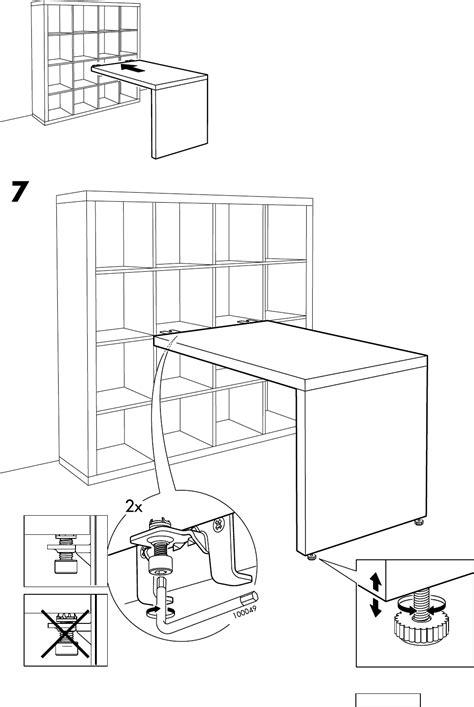 expedit bureau handleiding ikea expedit bureau pagina 8 8 dansk