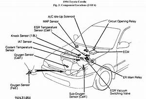1994 Toyota Camry Engine Diagram Sensors  Toyota  Auto Parts Catalog And Diagram