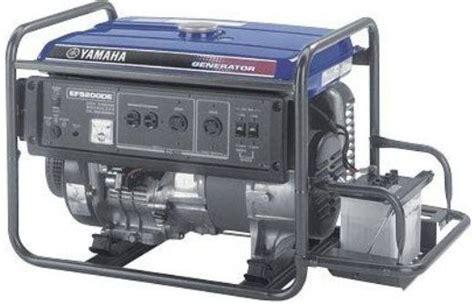 Yamaha Ef5200de Dual-voltage Generator, 5200 Watts