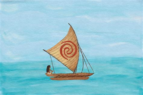 Moana Clipart Boat by Moana Sail Pictures To Pin On Pinterest Thepinsta