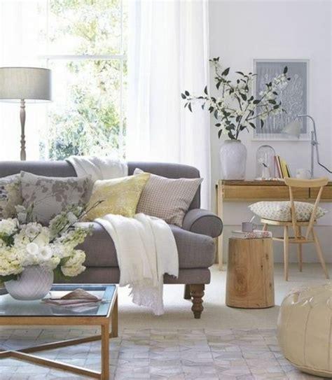 deco avec canapé gris deco salon avec canape gris et blanc