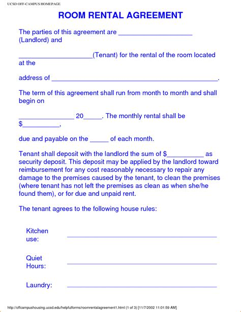 bedroom rental agreement photos and