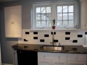 Black Kitchen Backsplash Ideas Black And White Backsplash Tile Designs Home Design Ideas Black And White Backsplash In Home