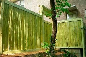 Bambou Brise Vue : la canisse bambou une cl ture de jardin jolie et ~ Premium-room.com Idées de Décoration