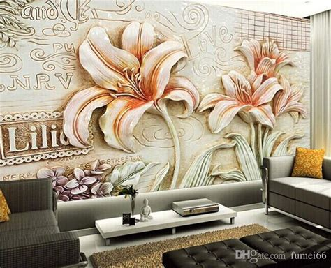 3d Wallpapers For Walls In Karachi by Seamless 3d Large Wallpaper Wallpapers Living Room Sofa