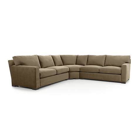 crate and barrel axis sofa manufacturer 25 best ideas about 3 sectional sofa on