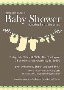 Baby Shower Invitations, Yellow Green Gender Neutral ...