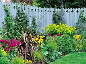 how to choose the right fence for your small garden hgtv With 4 landscape design ideas for your beautiful garden