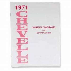 Chevelle Literature  Chevelle Wiring Diagram Manual  1971