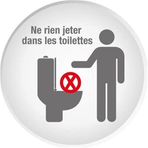 merci de laisser les toilettes propres panneau ne rien jeter dans les toilettes sin189