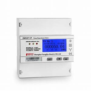 Em537 Ct 3 Phase 4 Wire Energy Meter Modbus Electricity