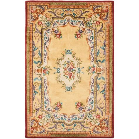 5 8 Area Rugs by Safavieh Empire Gold 5 Ft X 8 Ft Area Rug Em822a 5 The