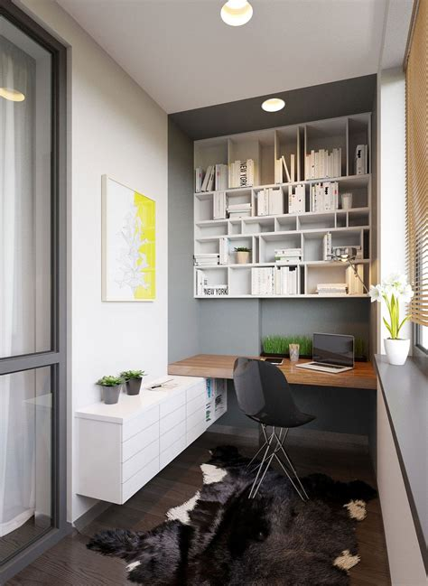 Workspaces With Views That Wow by Apartment Ernst In Kiev Inspired By Posh Hotel Ambiance