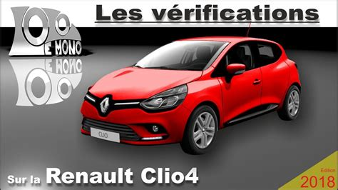 renault clio  verifications  securite routiere youtube
